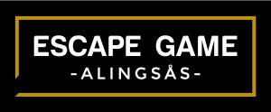 escape game logo_vitGuld_svartBotten
